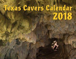 Texas Cavers Calendar 2018